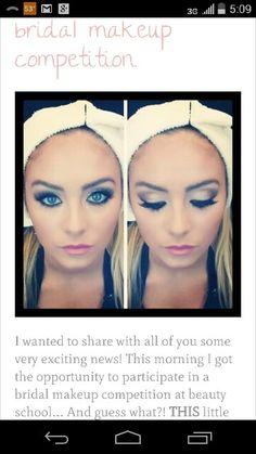 Competition make up from sweetlittlenugget.com Makeup Application, Bridal Makeup, Competition, Make Up, Beauty, Blog, Mac Makeup Application, Face Makeup, Blogging