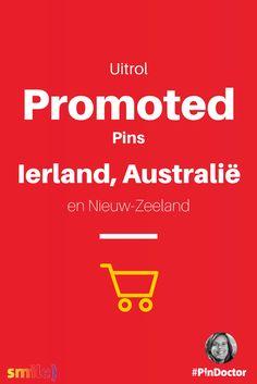 Uitrol van Promoted Pins gaat verder Nu ook in Ierland Australië en Nieuw Zeeland. Blog door @suuswartenbergh