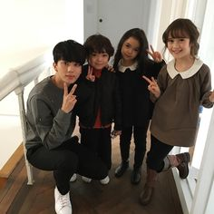 Youngjae and cute kids