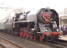 Prague Spring, Steam Locomotive, Trains, Old Trains, Railings, Europe, Train Tracks, Russia
