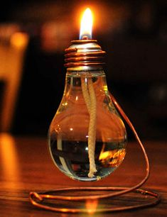 Turn Recycled Glass Bottles Into Vintage Oil Lamps - Fresh Style ...
