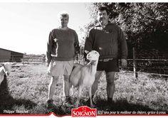 Éleveurs de chèvres Soignon.