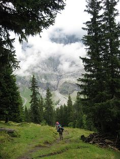 Hiking Alps by gingama, via Flickr