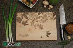 Personalized Gift Engraved Cutting Board w/ por PegasusParchments