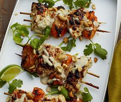 Chicken-Apricot Skewers Recipe