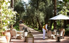 Enjoy gracious hospitality at La Mamounia located in Marrakech, Morocco that meets the expectations of the most discerning guests.