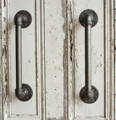 Industrial Steel Pipe Door Handles