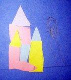 Artsonia Art Exhibit :: Klee's Castles Have students make a castle for their queen, practice shape names, scissor skills, gluing, art