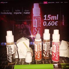 START VAPING PINKFURY ELIQUID! 15ML FOR 0,60€ - pink-fury.com
