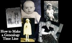 How to Make a Genealogy Time Line