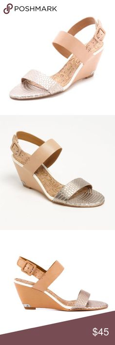 Sam Edelman Sutton sandals Can be dressed up or down! These are used, but still in good condition. Sam Edelman Shoes Sandals