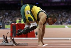 South Africa's Oscar Pistorius is set to be the first double amputee runner at the Olympic 2012 Games in London
