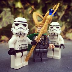 Stormtroopers and Loki