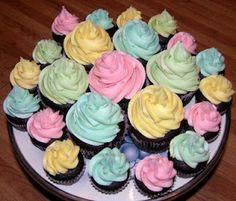 clydes cupcake magic garden | Spring Cupcakes