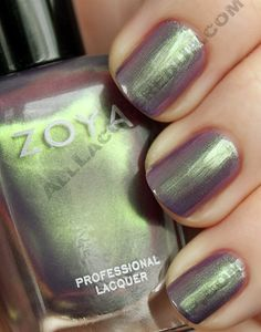 Adina is the color that has been receiving the most buzz. Like the blogger it's named after, Adina from Krasey Beauty, it is a unique flower. With its cool purple base and green shimmer Adina is a true duo-chrome, meaning it flashes different colors depending on the lighting and angle in which you view it