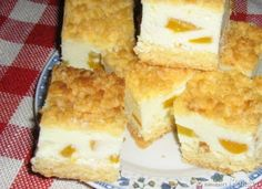 Śmietanowe ciasto. Cornbread, Vanilla Cake, Cheesecake, Ethnic Recipes, Food, Millet Bread, Cheese Cakes, Corn Bread, Cheesecakes