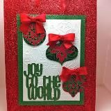 New Gallery Christmas card using CTMH products!!
