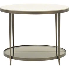 Baker Furniture : Oberon End Table - 3659 : Barbara Barry : Browse Products