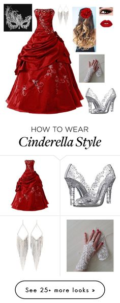 """""""Amelia's masquerade outfit"""" by hpgurrlalways on Polyvore featuring Dolce&Gabbana and Jules Smith"""