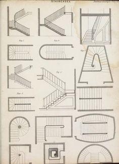 The encyclopaedia of practical carpentry and joinery : comprising the choice, pr. - The encyclopaedia of practical carpentry and joinery : comprising the choice, preservation, and str - Architecture Symbols, Architecture Blueprints, Architecture Concept Drawings, Stairs Architecture, Architecture Details, Interior Architecture Drawing, Architecture Student, Floor Plan Symbols, Carpentry And Joinery