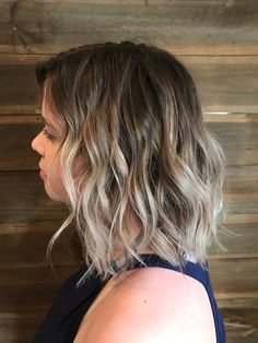 Balayage ombre blended beautiful blend lighter brighter creamy ashy blonde beautiful bright blondes clean blondes