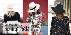 Our Favorite Spring Hats