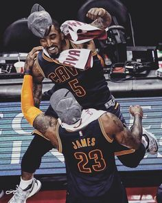 LeBron James/JR Smith Game 6 2016 Moving on to NBA Finals 2016 #23#5#striveforgreatness