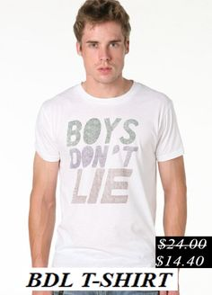 50% Discount. Bdl t-shirt. Now it's only.... $14.40
