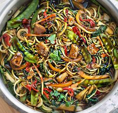 Low Mein Recipe, Homemade Chow Mein, Paleo Stir Fry, Low Carb Noodles, Chicken Chow Mein, Zucchini Fries, Mein Style, Paleo Dinner