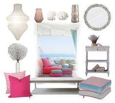 """Dream Beach House"" by gangdise ❤ liked on Polyvore featuring interior, interiors, interior design, home, home decor, interior decorating, John-Richard, Arteriors and dreambeachhouse"