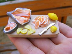 Shay Aarons Realistic Miniature Food.