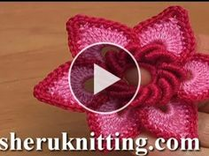 Flower Crochet – Video Tutorial