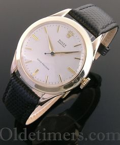 1950s 9ct gold vintage Rolex Perpetual Precision watch