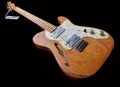 Telecaster Thinline, Fender Bender, Guitar Rig, Vintage Guitars, Banjo, Music Instruments, Art, Art Background, Musical Instruments
