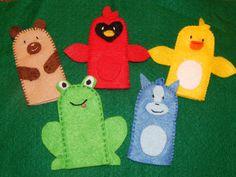 Brown Bear Finger Puppets