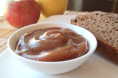 Easy Cinnamon Crockpot Apple Butter (no need to peel!) (Canned Apple Butter) Slow Cooker Recipes, Crockpot Recipes, Healthy Recipes, Butter Recipe, Butter Crock, Apple Butter, Dairy Free Recipes, Gluten Free, Apple Recipes