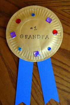 craft for grandparents day  Gold Award for Grandma & Grandpa