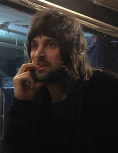 Sergio Pizzorno - Kasabian. How is that fair!? Look at him, he's perfect...