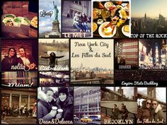Les Filles du Sud @ New York  www.lesfillesdusudbijoux.com Rock News, Central Park, Empire State Building, The Rock, New York City, Brooklyn, Southern Girls, New York, Nyc