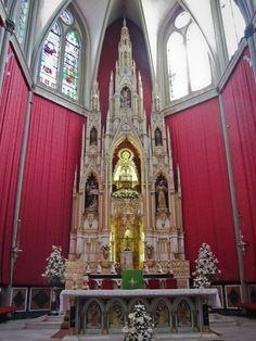Chipiona. Altar de la virgen de Regla en el Santurario