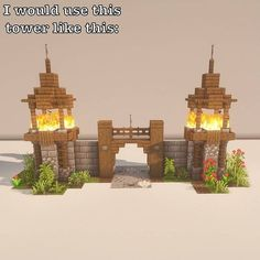 Minecraft Wall, Minecraft Cottage, Minecraft Castle, Cute Minecraft Houses, Minecraft Plans, Minecraft House Designs, Amazing Minecraft, Minecraft Blueprints, Minecraft Crafts