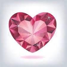 Resultado de imagem para diamond heart tattoo