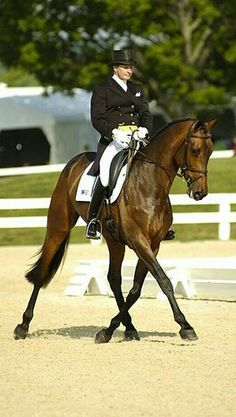 Karen O'Connor on Veronica at the Rolex Kentucky Three Day Event.