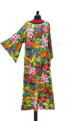 aee75ae5eda Kaftan dress maxi caftan dress Loose cotton casual dress plus size summer  dress