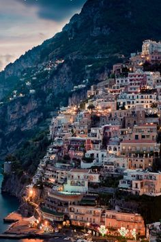 Positano in Campania, Italy. Positano is a village and comune on the Amalfi Coast (Costiera Amalfitana), in Campania, Italy. Vacation Destinations, Dream Vacations, Vacation Spots, Positano Italien, Places To Travel, Places To See, Places Around The World, Around The Worlds, Amalfi Coast Italy