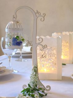 Wedding decoration hanging Birdcage by Koelnschaetze on Etsy, €5.90