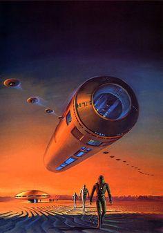 Ретрофутуризм. Retrofuturism - Bruce Pennington