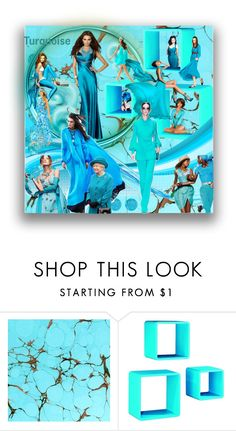 """Turquoise"" by marionmeyer ❤ liked on Polyvore featuring Etro, Lilly Pulitzer and turquoise"