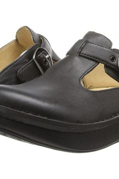 Alegria Classic (Black Napa Leather) Women's Clog Shoes - Alegria, Classic, ALG-601, Women's Casual Flats Flats, Slides/Mules, Clog, Closed Footwear, Footwear, Shoes, Gift, - Street Fashion And Style Ideas