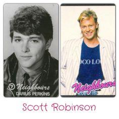 Scott Robinson Darius Perkins - 1985 Jason Donovan - 1986-1989